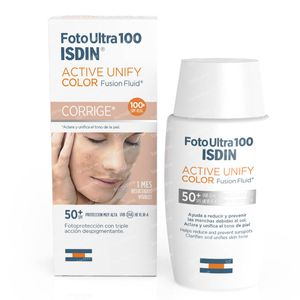 ISDIN UV Care FotoUltra Active Unify Fusion Fluid Color SPF50+ 50 ml