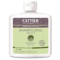 Cattier Shampoo Groene Klei Vette Hoofdhuid Bio 250 ml